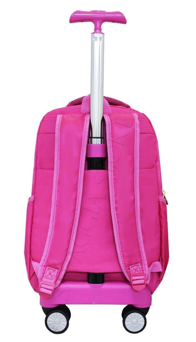 4bcbac1f3 Mochila Rodinhas Feminina Unicórnio Escolar Notebook 360 Rosa - Vozz R$  289,99 à vista. Adicionar à sacola