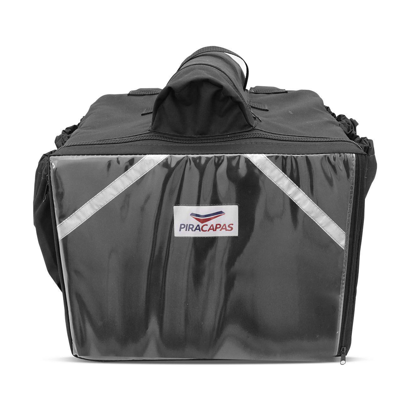 5014907c0 Mochila Termica para Entregas Moto 45 Litros Isopor Preta Bolsa Entregador  Pizza Lanches Marmita - Piracapas R$ 114,90 à vista. Adicionar à sacola