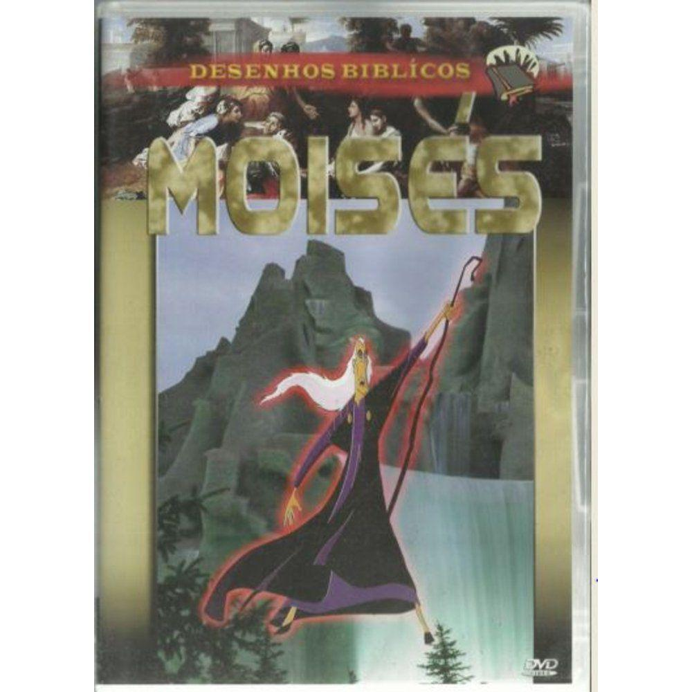 Moises Desenhos Biblicos Dvd Md Music Service P E C S S V
