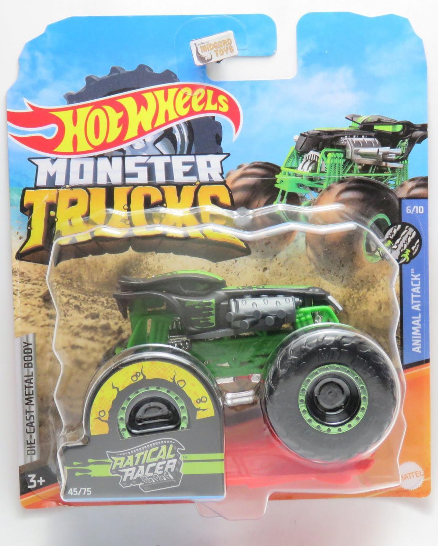 Monster Trucks Ratical Racer 45 1 64 Hot Wheels Carrinho De Brinquedo Magazine Luiza