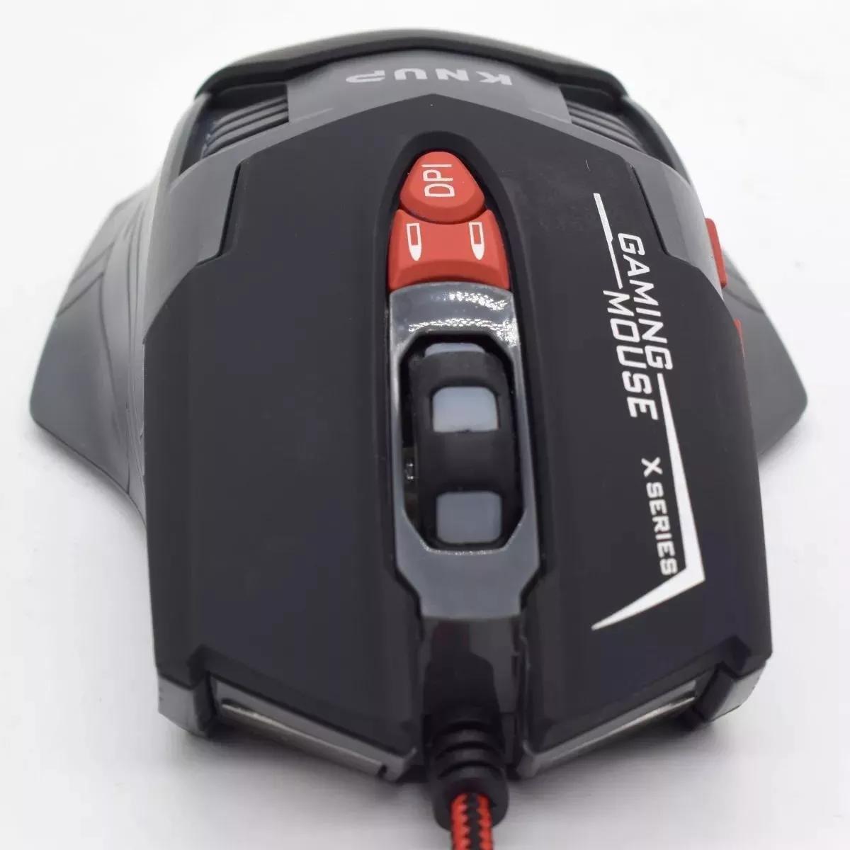 Mouse Gamer Croma Macro 7 Cores X1 Knup Pubg Csgo Lol T4