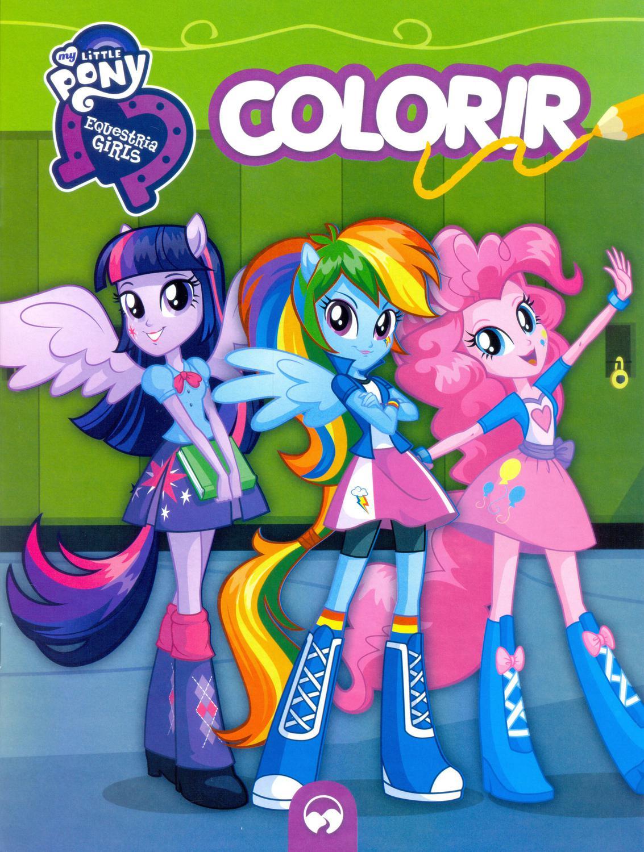 My Little Pony Equestria Girls Colorir Vale Das Letras