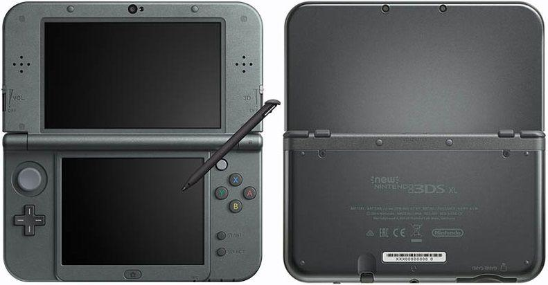 New Nintendo 3Ds XL Preto + Carregador Original Nintendo - Console on