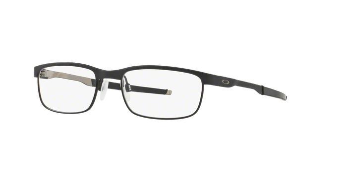 a555b9a85ac Oakley STEEL PLATE OX3222 01 Preto Lente Tam 54 - Armação   Óculos ...