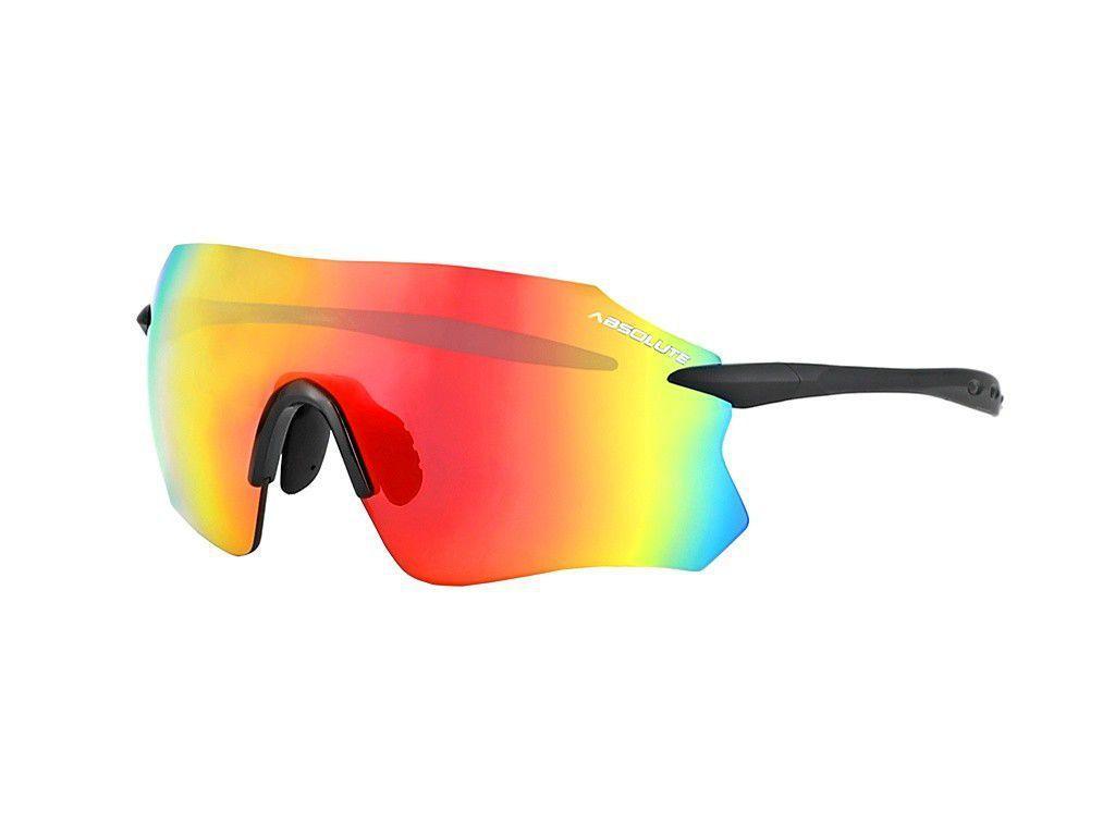 Oculos ciclismo absolute prime sl preto fosco/lente vermelha - Óculos de  Ciclismo / Corrida - Magazine Luiza