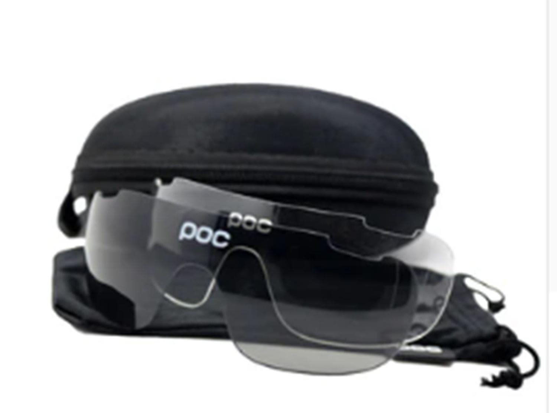 065137c8a1 Óculos Ciclismo com 3 lentes e Estojo Varias Cores - POC R$ 120,00 à vista.  Adicionar à sacola