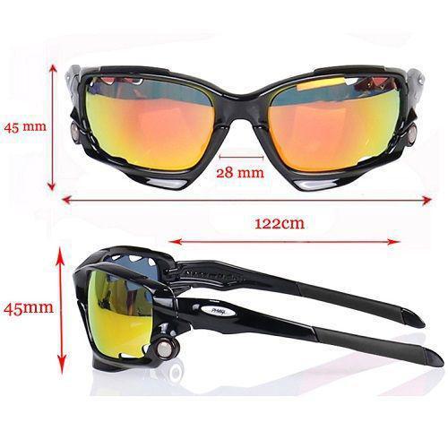e86a0ebce8 Óculos Ciclismo Esportes Phmax 3 Lentes + Case - Lei li imports R$ 99,00 à  vista. Adicionar à sacola