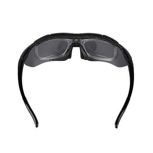 c615b25da6f6b Óculos Ciclismo Esportes Polarizado 5 Lentes Rockbros + Clip Lente De Grau  - Lei li imports R  119