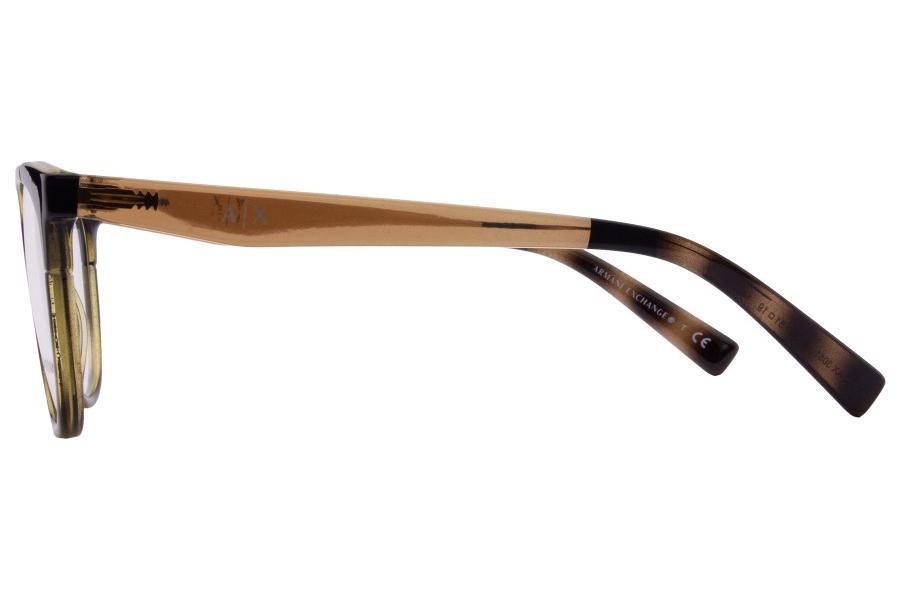 e313b7308 Óculos de Grau Armani Exchange AX3051 8224/51 Havana Marrom R$ 410,00 à  vista. Adicionar à sacola