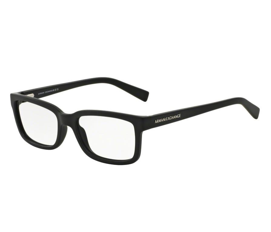 16d9f871417c7 Óculos de Grau Armani Masculino Preto AX 3022L 8078 Tam.54 - Armani exchange  R  339,00 à vista. Adicionar à sacola