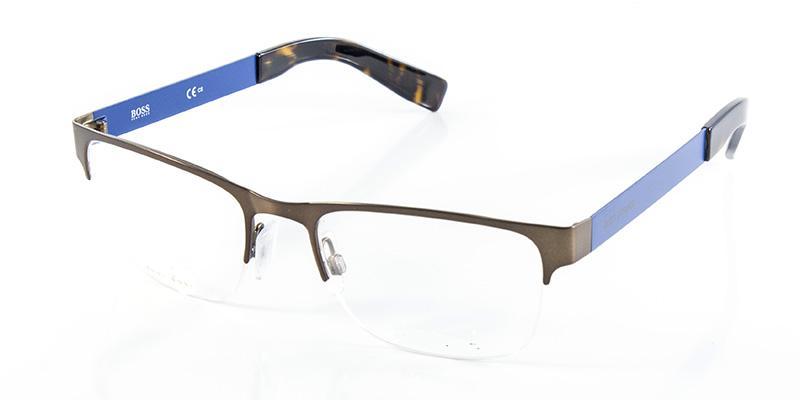 a37d1d356dc83 Óculos de Grau Boss Orange BO0205 Cobre Azul - Óptica - Magazine Luiza