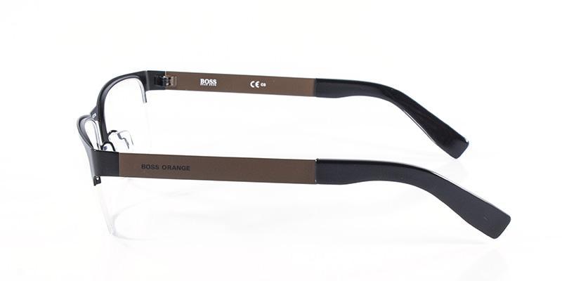 8b0c2373b72bf Óculos de Grau Boss Orange BO0205 Marrom - Óptica - Magazine Luiza