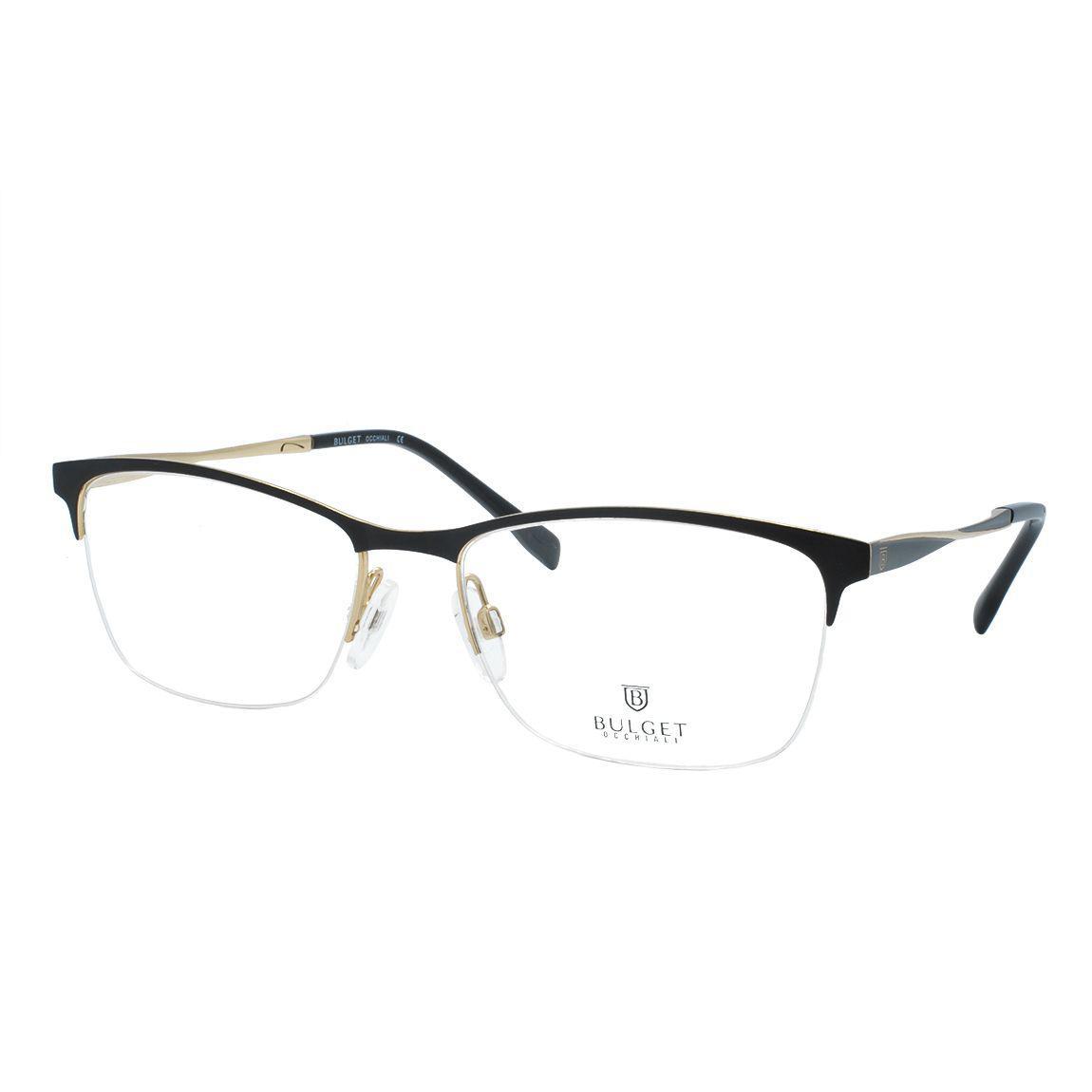 9f894de07 Óculos de Grau Bulget Feminino Fio de Nylon BG1546 09A - Metal Preto e  Dourado Produto não disponível
