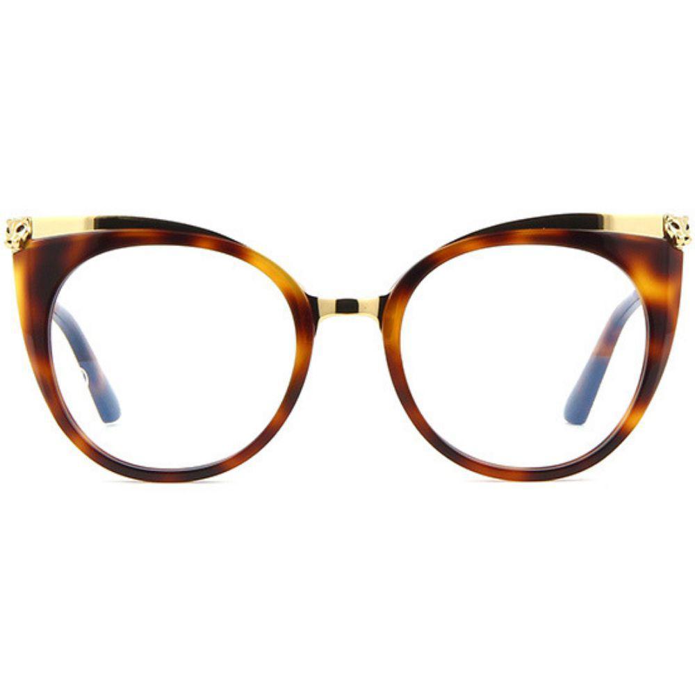 b4b28a9b7 Óculos de Grau Cartier 0123 O 002 R$ 5.659,00 à vista. Adicionar à sacola