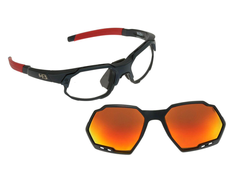 Óculos de Grau Clip On HB Rush Matte Navy Multi Red - Óculos de Grau -  Magazine Luiza