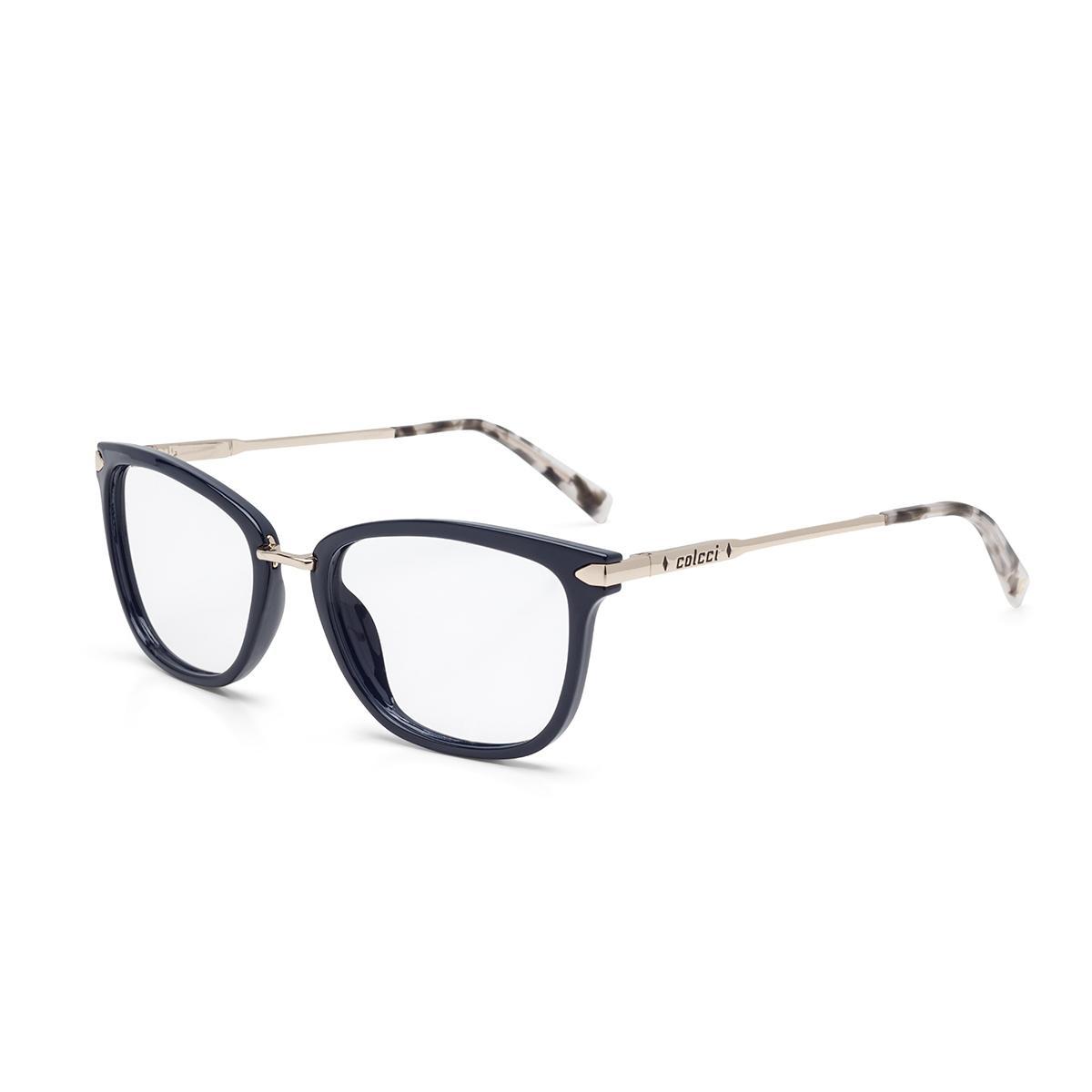 c5bdb462c Óculos de Grau Colcci ANNA C6095 K19 54 Azul Lente Tam 54 R$ 389,00 à  vista. Adicionar à sacola