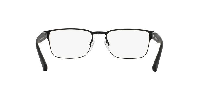 38de03b1e8a4c Óculos de Grau Emporio Armani EA1027 3001 Preto Fosco Lentes Tam 55 R   289