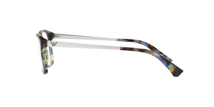 eadb13b67a1d5 Óculos de Grau Emporio Armani EA3026 5542 Tartaruga Ponto Azul Lentes Tam 54  Produto não disponível