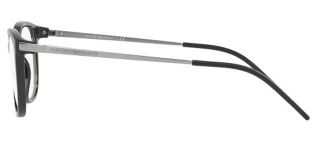 a79ec7fe5fd7f Óculos de Grau Emporio Armani EA3102 5017 Preto Lentes Tam 54 R  319