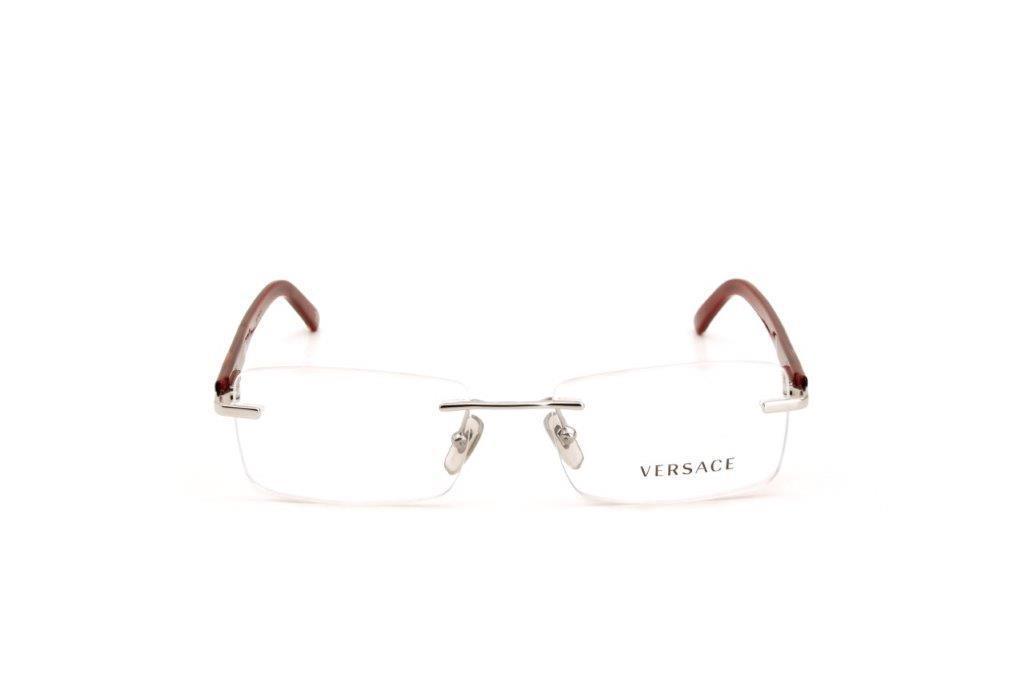 51f62d48a Óculos de Grau Feminino Versace Metal Vermelho R$ 366,00 à vista. Adicionar  à sacola