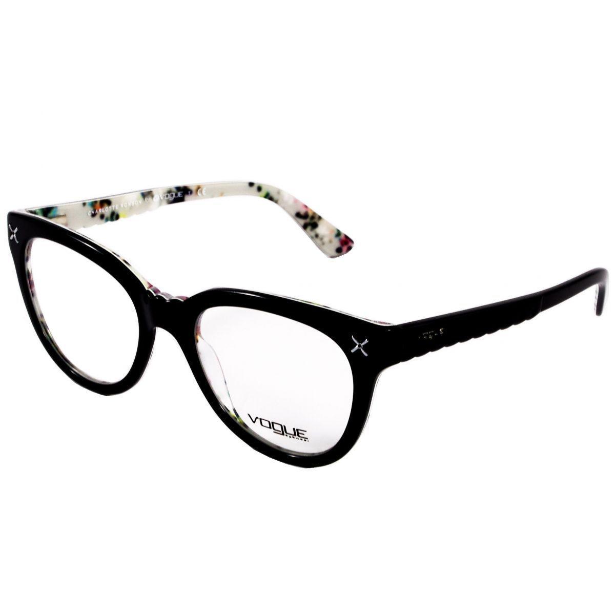 f54c244f3530b Óculos De Grau Feminino Vogue VO2887 2210 Tam.51 - Vogue original - Óptica  - Magazine Luiza