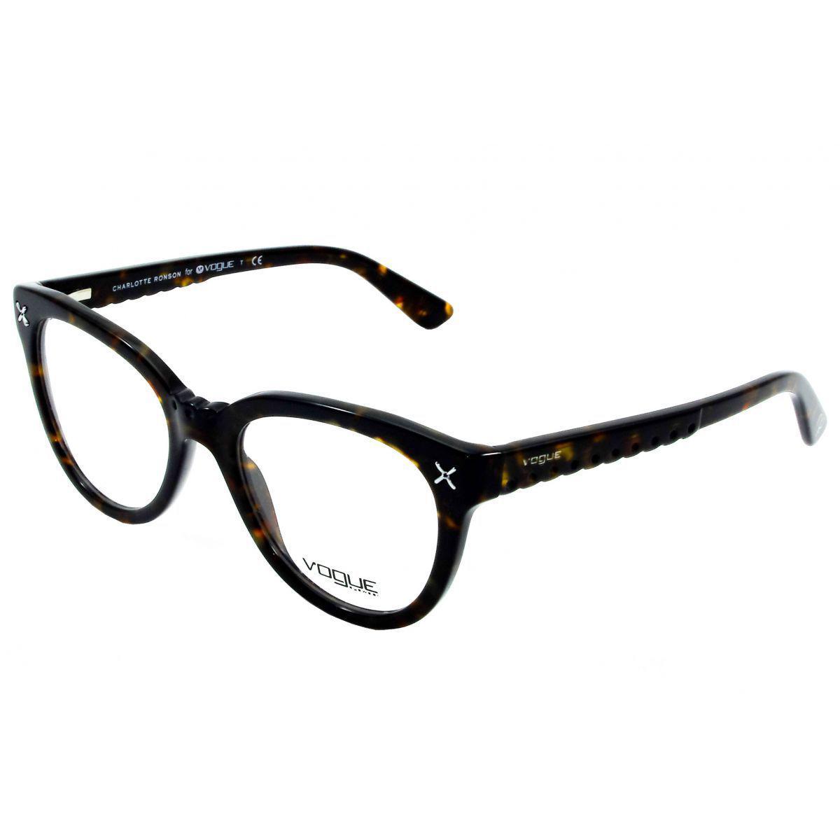 20cd4da2a85a4 Óculos De Grau Feminino Vogue VO2887 W656 Tam.51 - Vogue original - Óptica  - Magazine Luiza