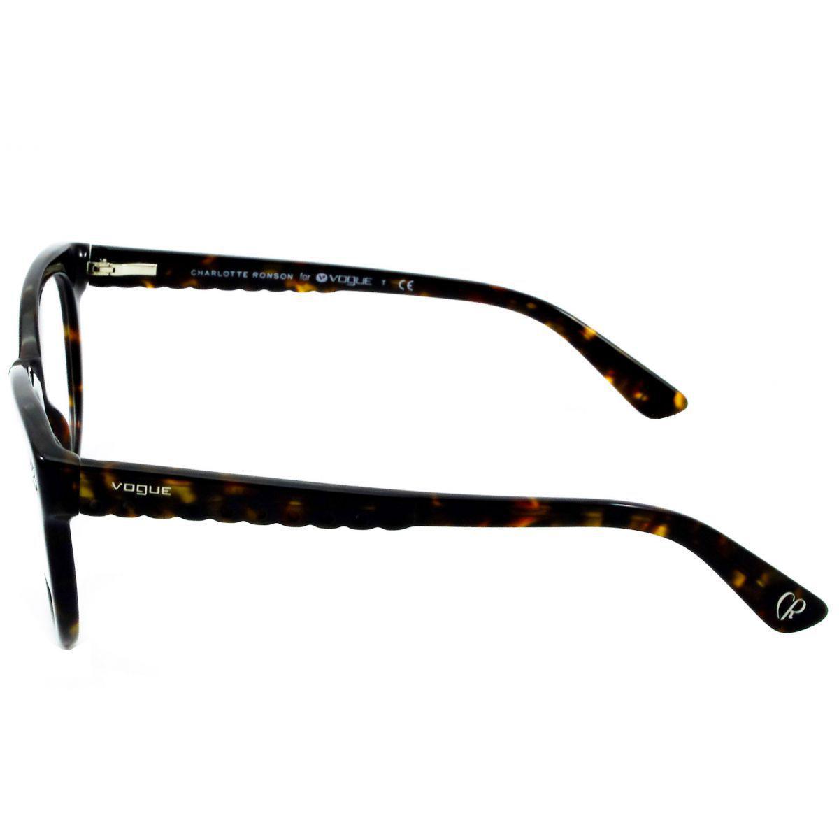 1cf9741ff23f8 Óculos De Grau Feminino Vogue VO2887 W656 Tam.51 - Vogue original R  399,00  à vista. Adicionar à sacola