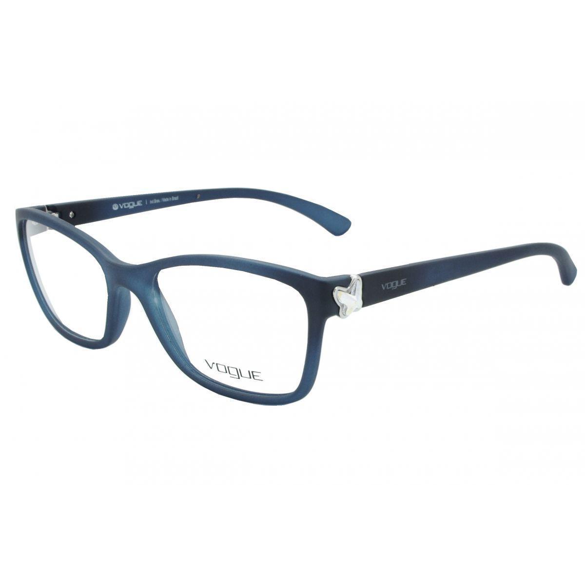 Óculos De Grau Feminino Vogue VO2895BL 2209 Tam.53 - Vogue original R   319,00 à vista. Adicionar à sacola 42c589ce3f