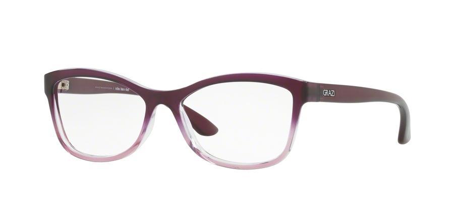 d660094faf589 Óculos de Grau Grazi Massafera GZ3036 F060 Vermelho Translúcido Lente Tam 52  R  149
