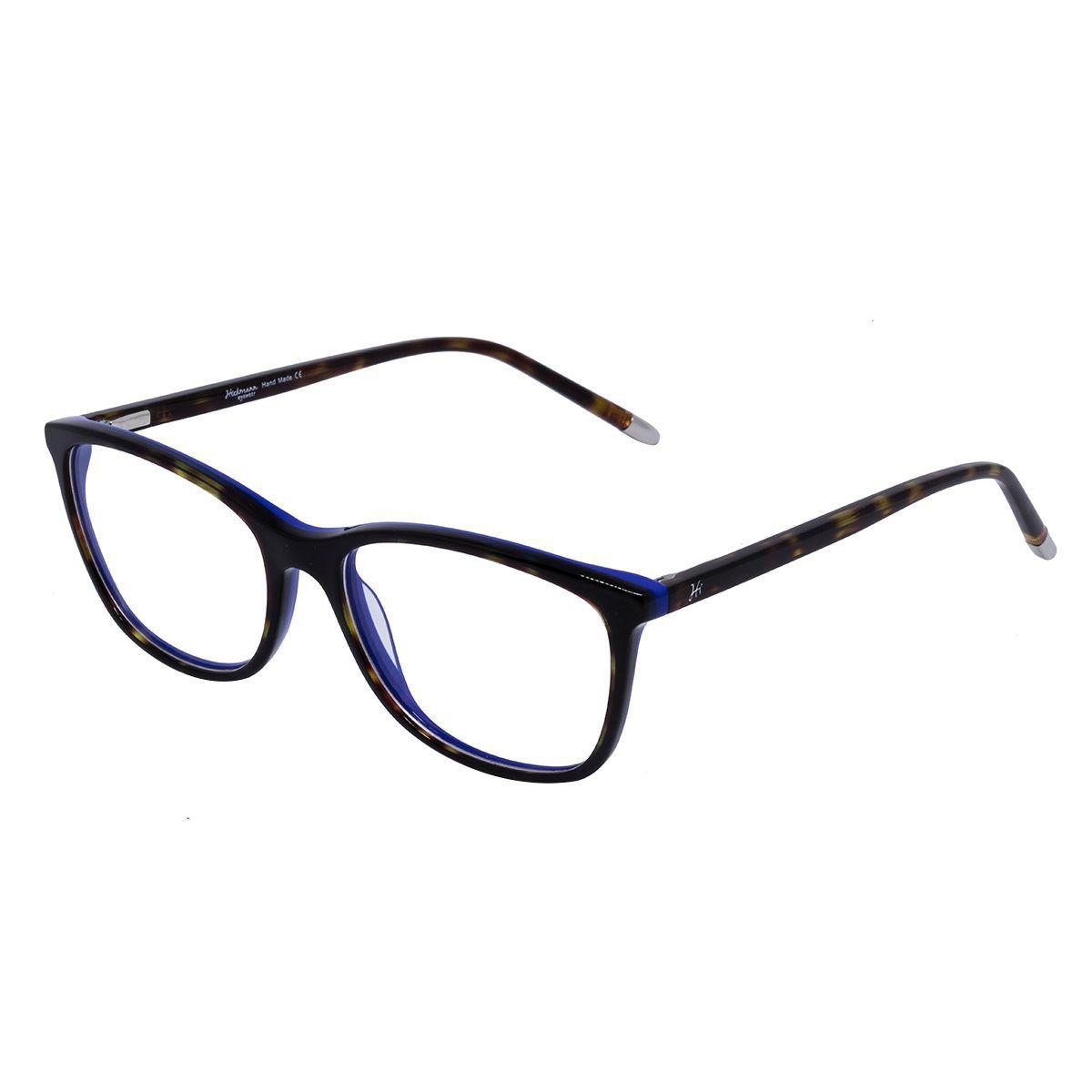 559ef0429 Óculos de Grau Hickmann Feminino HI6044 CG23 - Acetato Tartaruga Azul R$  353,00 à vista. Adicionar à sacola