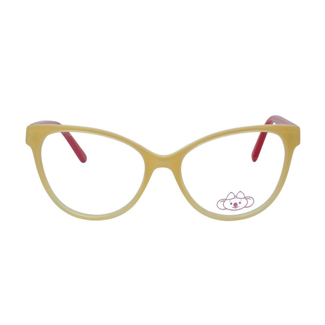 Óculos de Grau Infantil Lilica Ripilica Feminino VLR083 C3 - Acetato Bege e  Vermelho R  268,00 à vista. Adicionar à sacola 7ec6fa00fc