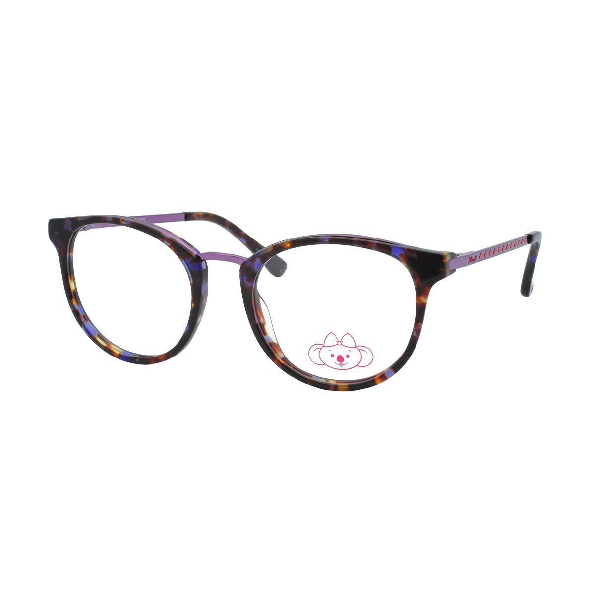 Óculos de Grau Infantil Lilica Ripilica Feminino VLR103 C3 - Acetato  Tartaruga e Metal Roxo Produto não disponível 6a0ba99e22
