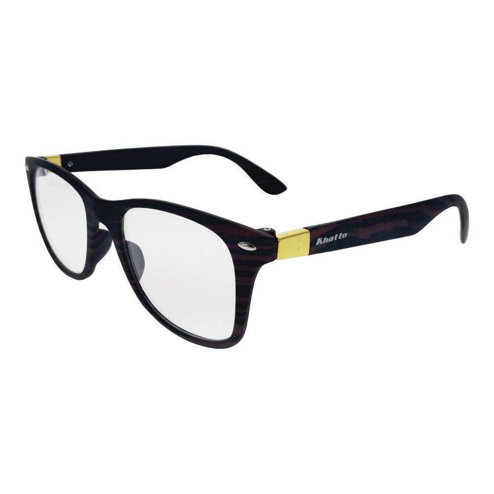80de1c381 Óculos de Grau Khatto Wayfarer Cracked R$ 79,90 à vista. Adicionar à sacola