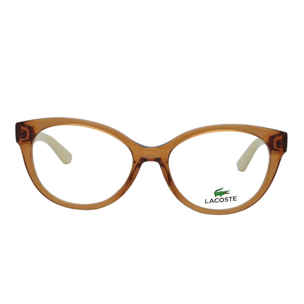 Óculos de Grau Lacoste Feminino L2708 C210 - Acetato Marrom Translucido e  Bege R  499,00 à vista. Adicionar à sacola e15ca7fb43