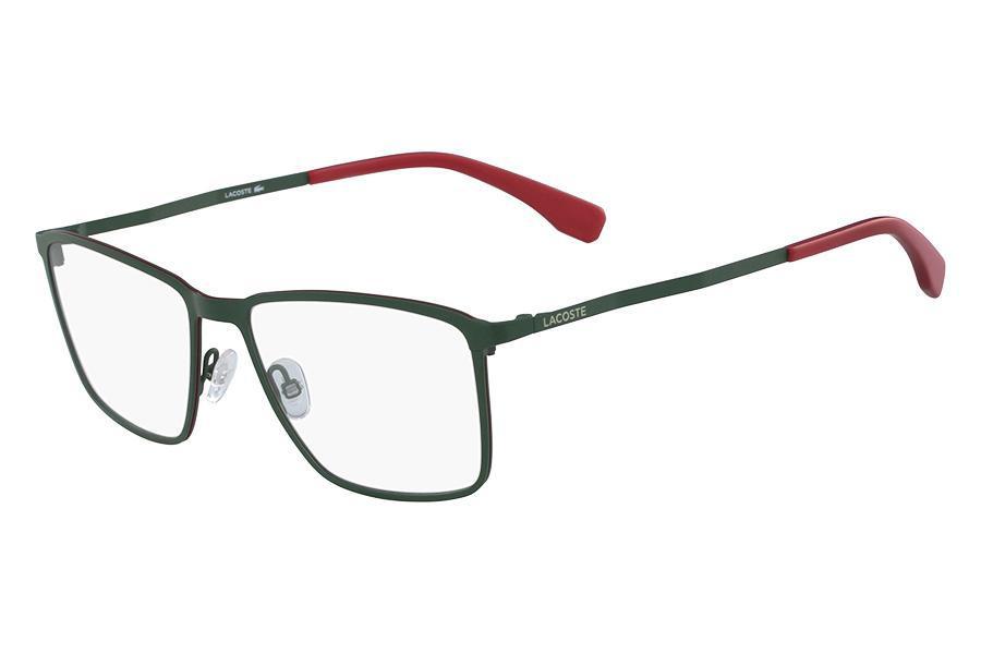 e7e85bc5273d7 Óculos de Grau Lacoste L2239 318 56 Verde Fosco R  656,00 à vista.  Adicionar à sacola