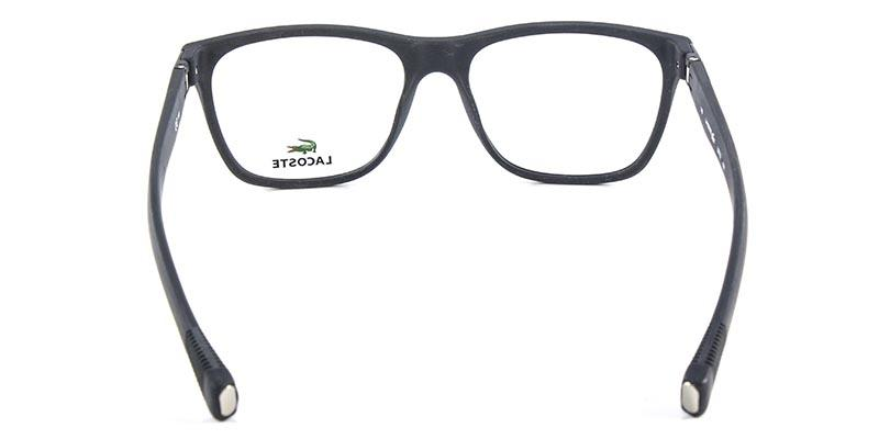 8aeab38442cb8 Óculos de Grau Lacoste L2713 Preto - Óptica - Magazine Luiza