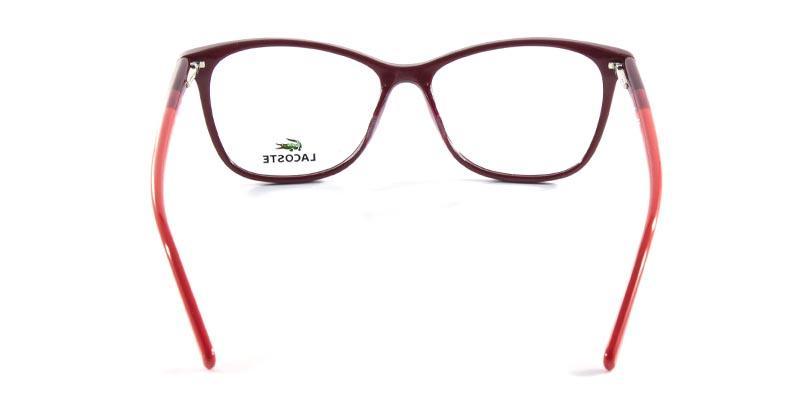 Óculos de Grau Lacoste L2751 Vinho - Óptica - Magazine Luiza 6a75711f92