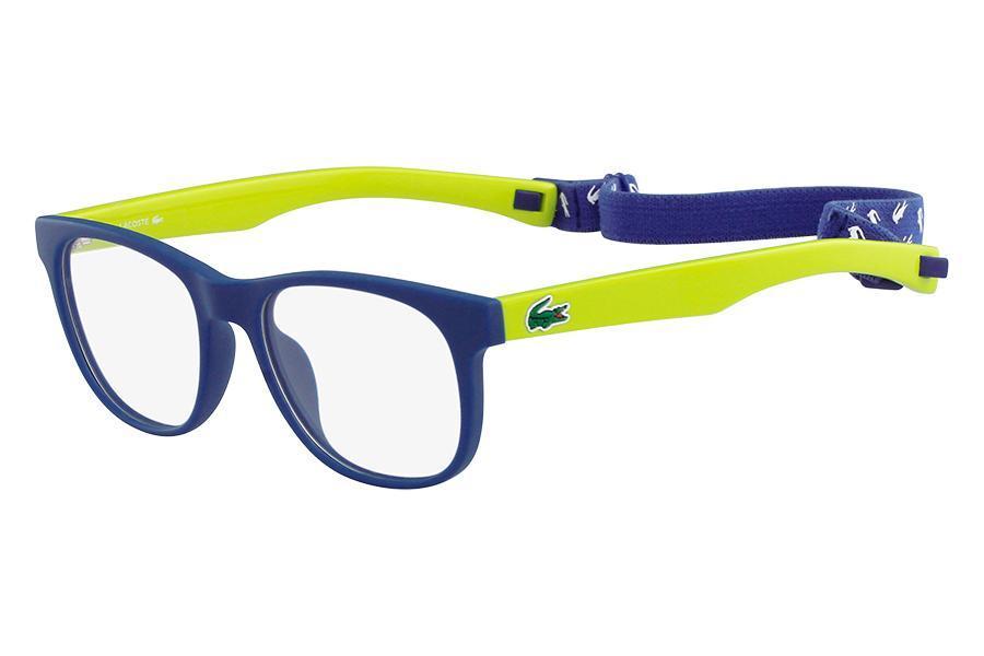 6be53614a51de Óculos de Grau Lacoste L3621 414 47 Azul Fosco R  478,00 à vista. Adicionar  à sacola
