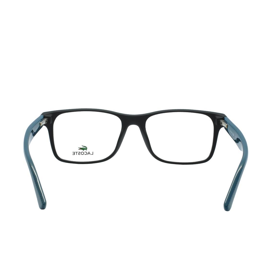 8f62cefbd6256 Óculos de Grau Lacoste Masculino L2741 004 - Acetato Preto e Verde R   569