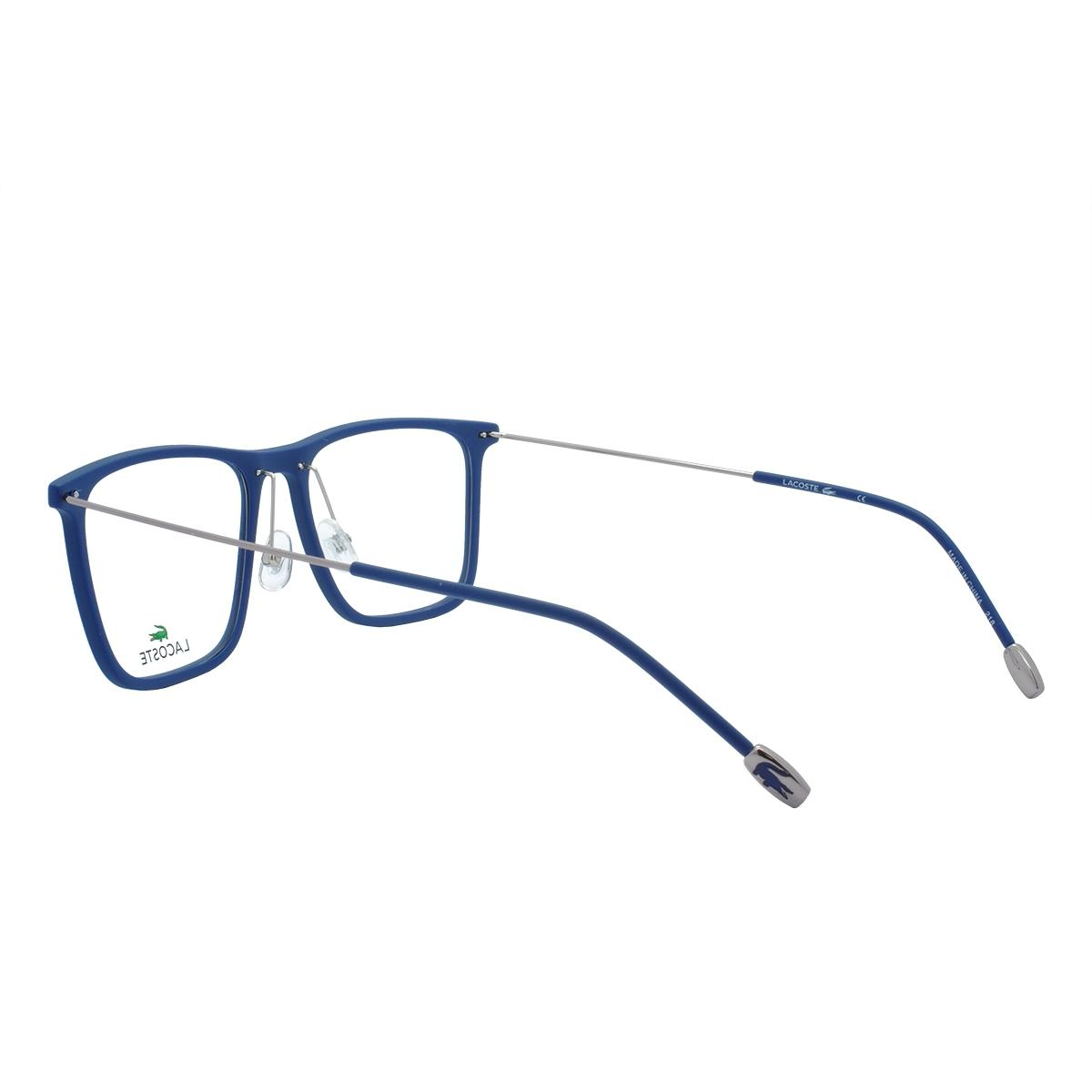 1a901502b Óculos de Grau Lacoste Masculino L2829 424 - Acetato Azul R$ 569,00 à  vista. Adicionar à sacola