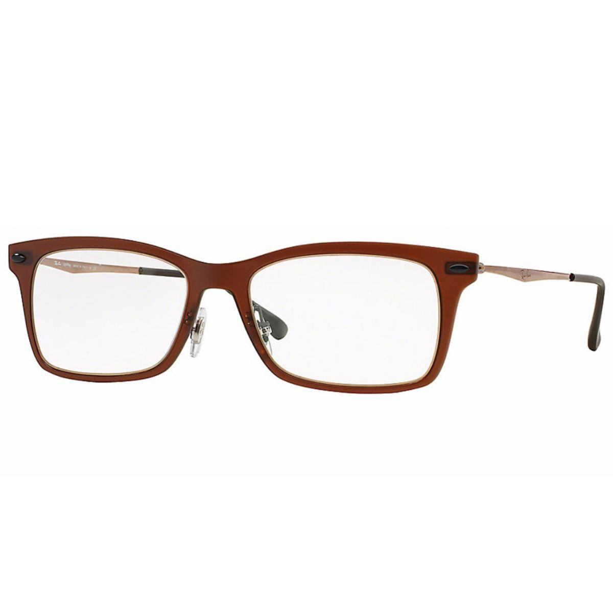 Óculos De Grau Light Ray Titânio Ray Ban RB7039 5450 Tam.51 - Ray ban  original - Óculos de grau - Magazine Luiza de6f42abe6