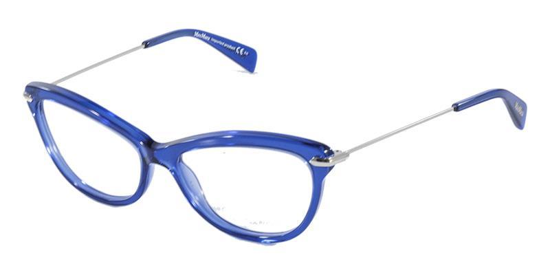 3bde125dba444 Óculos de Grau MaxMara 1202 Azul - Max mara R  499,99 à vista. Adicionar à  sacola