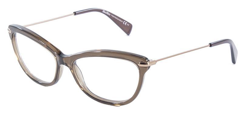 7114245899f9b Óculos de Grau MaxMara 1202 Marrom - Max mara - Óptica - Magazine Luiza