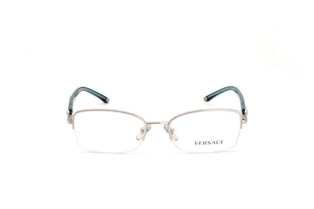 ec7ac5265fcd0 Óculos de Grau Metal e Acetado Feminino Prata - Versace R  390,00 à vista.  Adicionar à sacola
