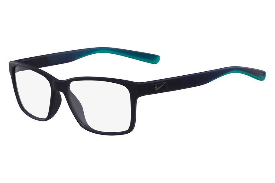 88d993208cac5 Óculos de Grau Nike 7091 415 54 Preto com Azul e Verde Fosco R  574