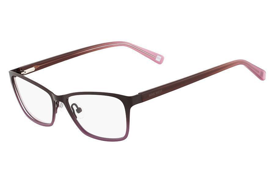 4b604ab7b Óculos de Grau Nine West NW1043 551/51 Roxo Produto não disponível