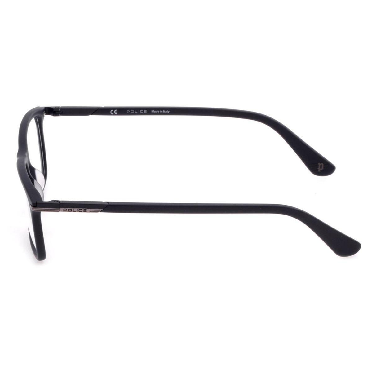 ff01e2eb1f3e5 Óculos de Grau Police Westwing 2 Masculino VPL691 0703 - Acetato Preto R   673