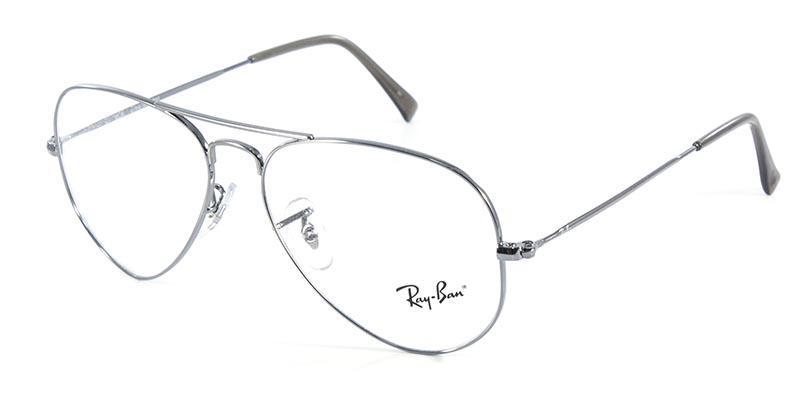 Óculos de Grau Ray Ban Aviator RB6049 Prata - Ray-ban Produto não disponível 3c4baa141e
