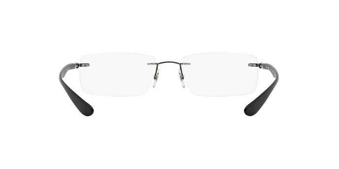 af77001101b7c Óculos de Grau Ray-Ban Balgriff RX8724 1128 Titanio Grafite Sand Dark Lente  Tam 56 R  389