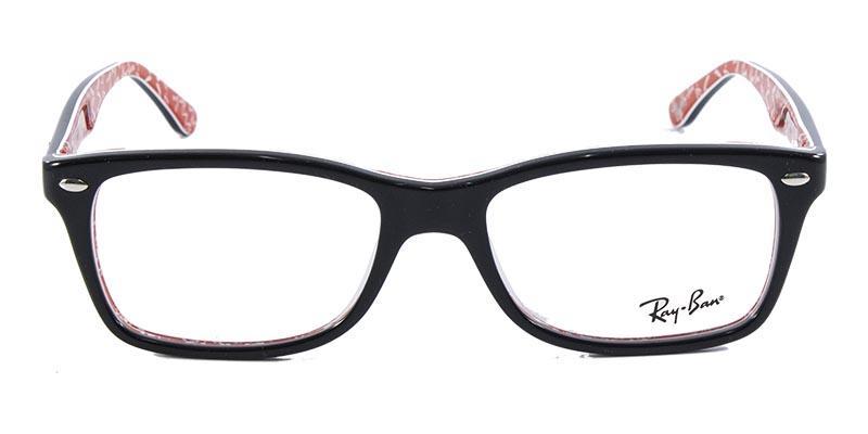 e2e5c3f97 Óculos de Grau Ray Ban Highstreet RB5228 Preto Transparente R$ 279,99 à  vista. Adicionar à sacola